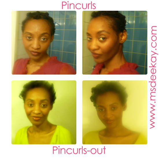 Pin Curls Pin curls out