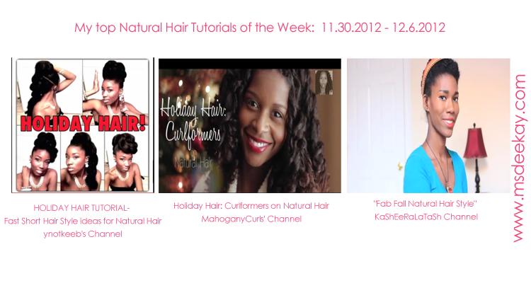 Tutorials Of the Week 11.30.12/12.6.12
