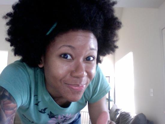 Meosha of 1menaturallyYouTube Natural Hair Vlogger