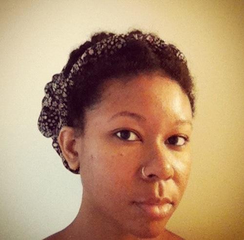 Meosha of 1menaturally YouTube Natural Hair Vlogger