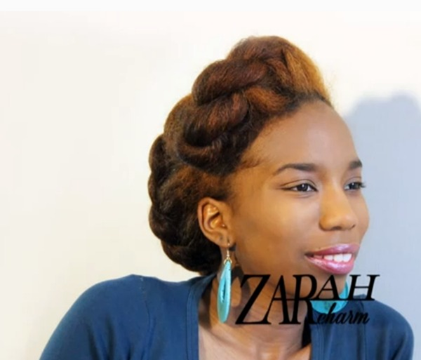 Five Minute Chic Twists YouTube Zarah Cham