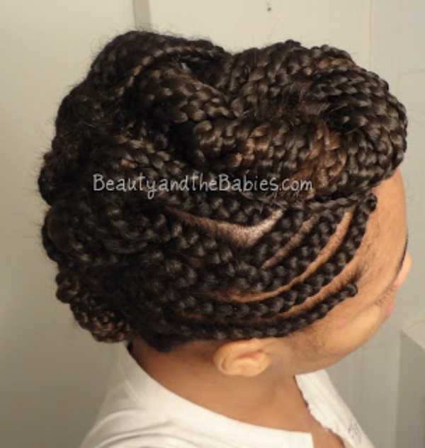 braided mohawk Marylena A