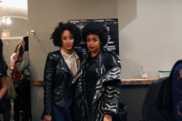 Naturals attended Solange sold out concert in toronto