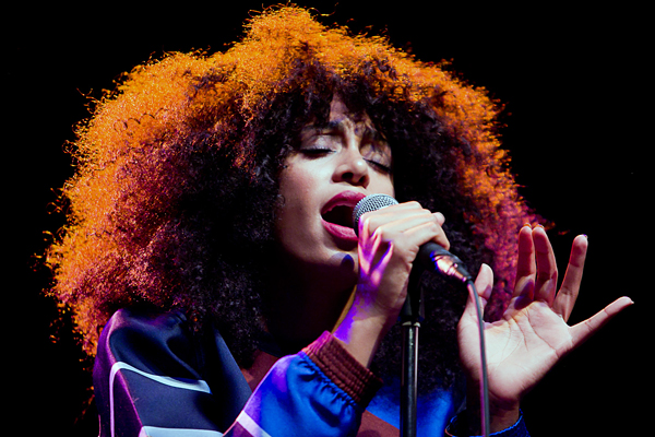 Solange performing at Danforth Music Hall in toronto