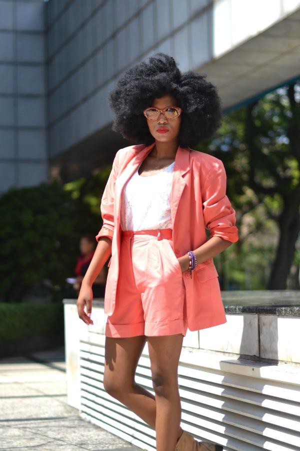 Funeka Ngwevela Orange Big Hair