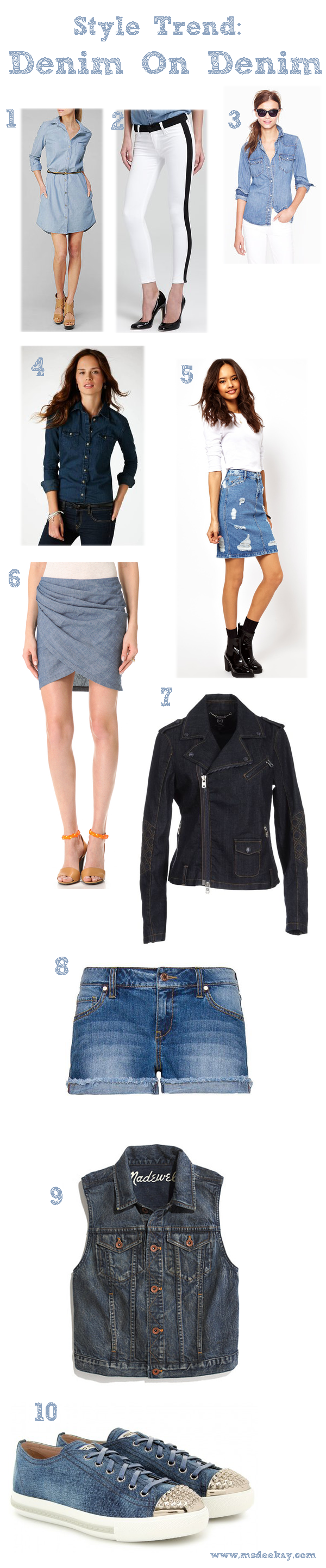 Style Trend: Denim On Denim