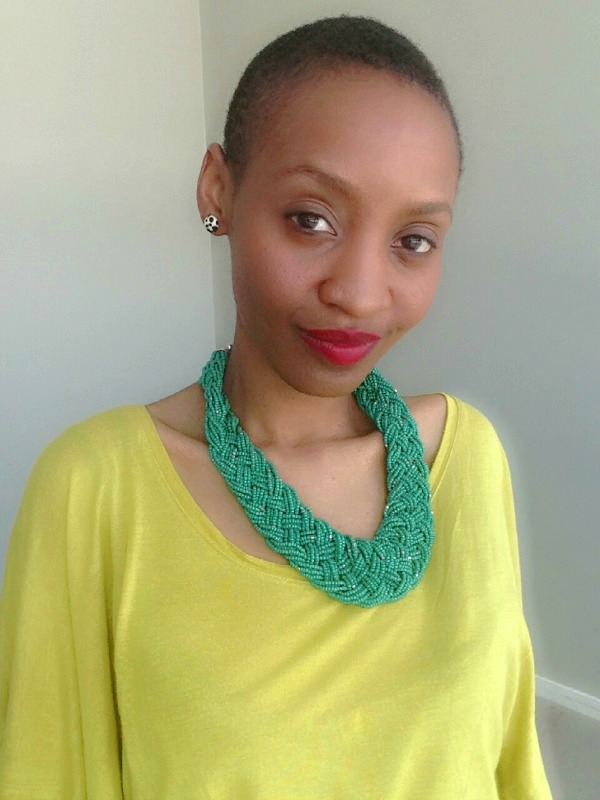 ootd-greenstatement-necklace