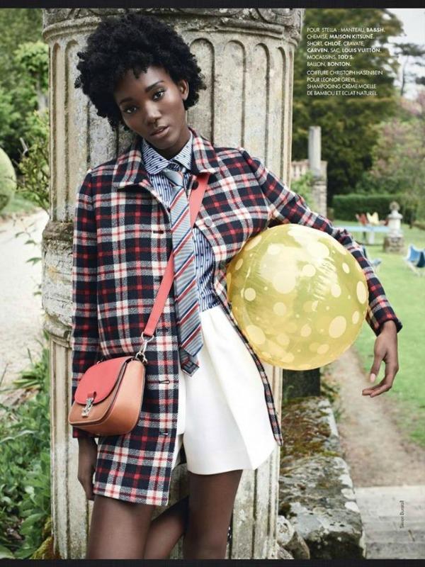 Stella Vaudran ElleFrance Elle Magazine Paris