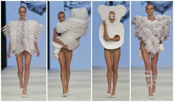 Bea Szenfeld At Day 2 Of Mercedes Benz Fashion Week