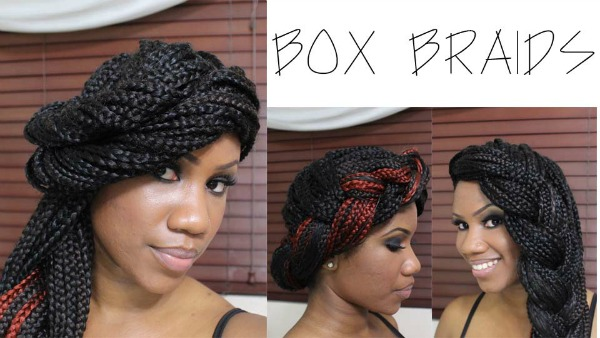 box braids updo how to kinkyislandgirl kyssmyhair brittany