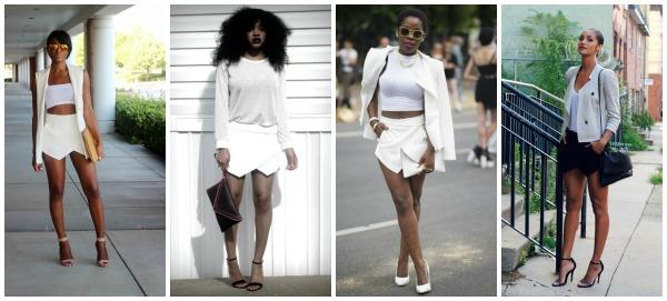 fashion bloggers, summer trend, zara, origami mini skort
