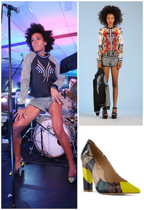 Solange Knowles, Clover Canyon Resort Collection, Fader, Brooklyn, Solange, Performance, Aldo, Prints, Style, Afro