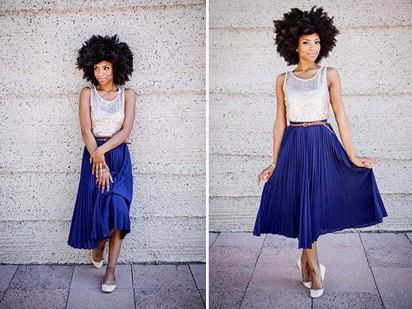 nicole carter-lyde, afro, big hair, natural hair, type 4 hair, model, emma magazine