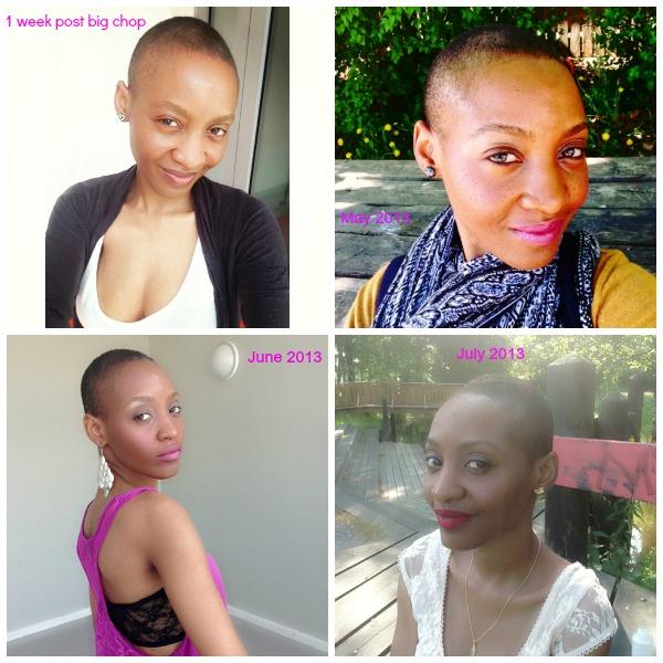 hair journey 3 months post big chop