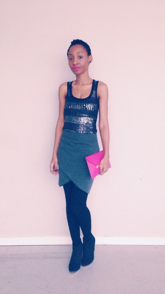 newyear outfit msdeekay sequin top