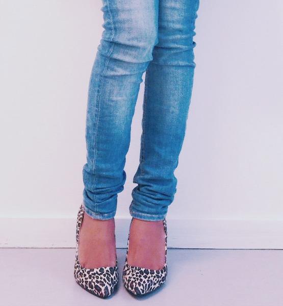 animal print heels shoes asos newlook