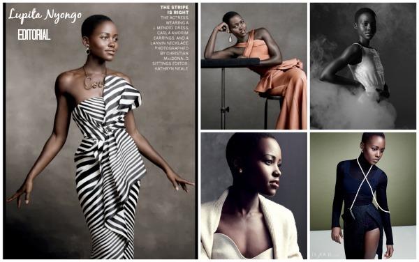 lupita nyongo in editorials