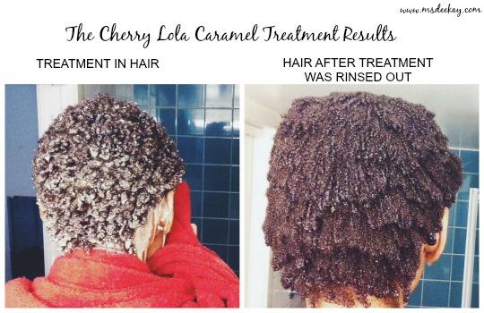cherry lola caramel treatment results