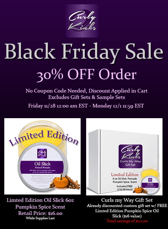 curlykinks black friday