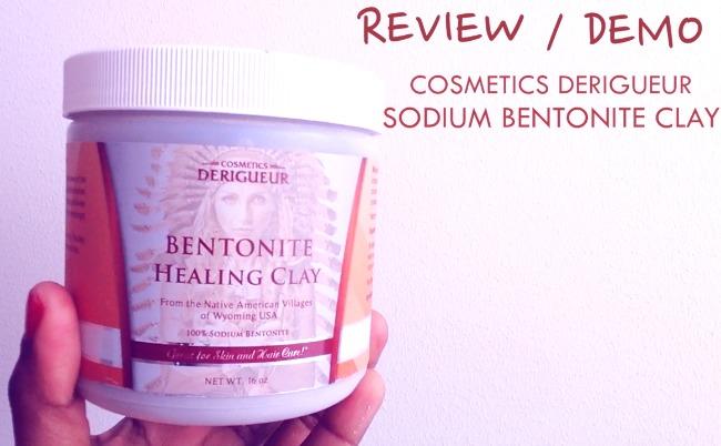 Cosmetics Derigueur Sodium Bentonite Clay